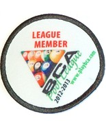 NEW 2012 2013 BCA 8 BALL POOL BILLIARD LEAGUE MEMBER PLAYER PATCH FREE S... - $11.94