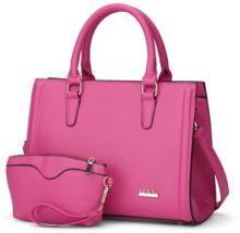 5 Color Women Shoulder Bags Leather Handbags Tote Bags,Purse L356-7 - ₨2,783.92 INR+