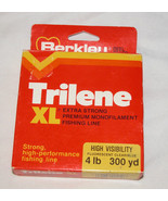 Berkley Reel Filler Trilene XL Extra Strong Premium Monofilament 4lb Fis... - $10.10