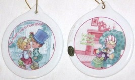 2001 PRECIOUS MOMENTS CHRISTMAS REMEMBERED PORCELAIN ORNAMENTS PMI FREE ... - $11.22