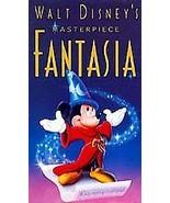 WALT DISNEY'S CLASSIC FANTASIA (VHS, 1991) HOME VIDEO FREE SHIPPING U.S.A. - $6.82