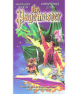 The Pagemaster (VHS, 1995, Clamshell) FOX HOME VIDEO FREE SHIPPING U.S.A. - $7.25