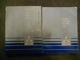 1987 Mitsubishi Precis Service Repair Shop Manual 2 Vol Set Factory Oem Book 87 - $29.26