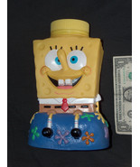2002 SpongeBob SquarePants Universal Studios Viacom Drinking Cup Figure ... - $14.68