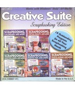 Creative Suite Scrapbooking Edition 15 Outstanding Programs for all Your... - $8.37