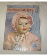 Antique 1950 Bear Brand Baby Book Crochet & Knitting Infants to 4 Years ... - $11.85