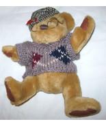 SHERWOOD PLUSH PICKFORD BEAR BRASS BUTTON TEDDY COLLECTION FREE SHIPPING... - $11.22