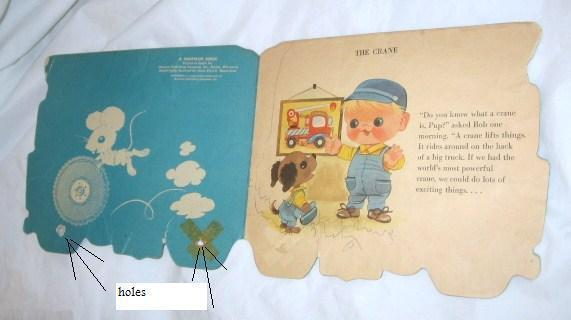 Primary image for VINTAGE 1950 WHITMAN BOOK THE CRANE WESTERN PUBLISHING CO FREE SHIPPING U.S.A.