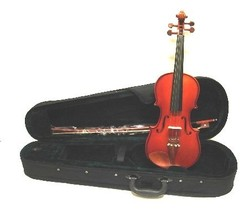 3/4 Size Boxwood Violin with Case and Bow + Free Rosin - $39.99