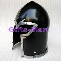Medieval Barbuta Helmet Armour Helmet Roman knight helmets leather Inner Liner` - $130.00