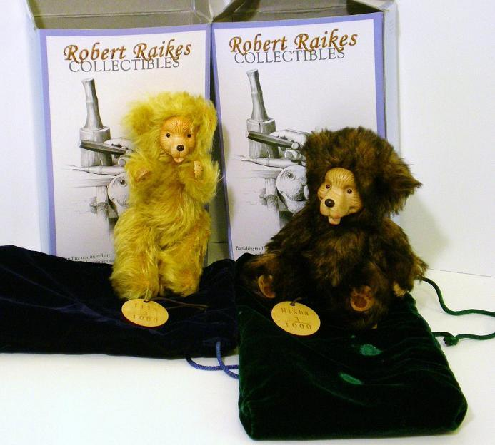 Raikes Bears Misha and Ilia, The Journey Home signed book
