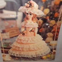 American Heritage Dolls Ladies Old South Crochet 1991 Booklet 2104 Leisu... - $10.99