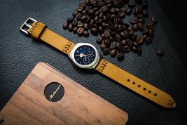 20mm Handamde Calf Leather Watch Strap for Sams... - $69.99