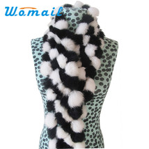 Winter Rabbit Faux Fur Scarf - $17.99