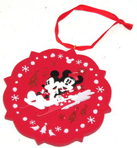 Disney Minnie Mickey Mouse Sled Ornament Holiday Tree Theme Parks New - $19.95