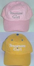 Tennessee Girl Hat Baseball Cap Pink Yellow New - €18,08 EUR