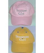 Tennessee Girl Hat Baseball Cap Pink Yellow New - $14.95