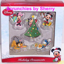 Disney Ornaments Mickey Minnie Mouse Donald Duck Pluto Dog Goofy Christmas  - $34.95