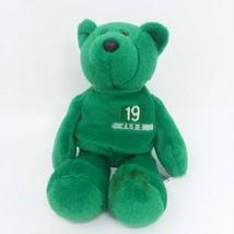 Jets Johnson #19 Limited Treasures Bean Bag Pro Bear Plush 1998 NY New York - $11.26