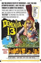 DEMENTIA 13 Movie Poster 1963 Francis Ford Coppola - $6.01+
