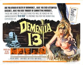 DEMENTIA 13 Movie Poster 1963 Francis Ford Coppola - $6.28+