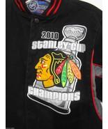 Chicago Blackhawks Kids L 9-10 Hockey 2010 Stanley Cup Champions Black J... - $34.30