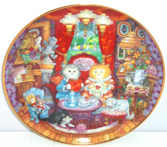 Collector Plate Cats Kittens Whisker Wuv Franklin Mint Kitty Bill Bell - $59.95