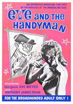 EVE AND THE HANDYMAN Movie POSTER Russ Meyer - $6.28+