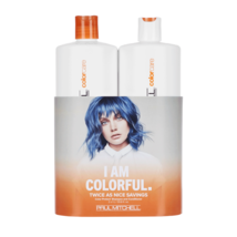Paul Mitchell Color Protect Daily Shampoo & Conditioner Liter Duo 33.8 oz Liter - $33.84