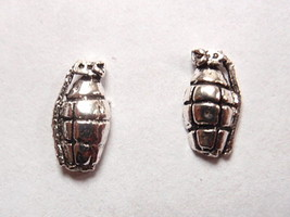 Grenades Stud Earrings 925 Sterling Silver Corona Sun Jewelry - $3.95