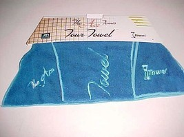 Original iTowel Product The Ace Tennis Tour Towel Blue 41 x 7 x 21 Inch New - £21.76 GBP
