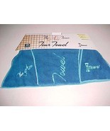 Original iTowel Product The Ace Tennis Tour Towel Blue 41 x 7 x 21 Inch New - $29.69