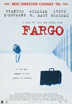 Fargo 1996 Crime/Drama Movie By Joel and Ethan Coen Movie POSTER - $6.28+