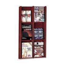 """Buddy Products Oak 6 or 12 Pocket Organizer 3"""" ... - $195.95"""