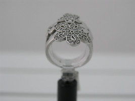 Ring Cacharel with many flowers and stones (CSR271Z), Sterling Silver 0,925 - £59.25 GBP