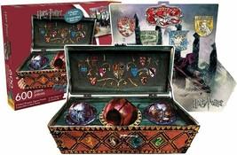 Aquarius Harry Potter Quidditch 600 Piece 2 Sided Die Cut Jigsaw Puzzle - $19.78