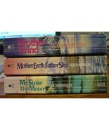 Lot 3 Sue Harrison Mother Earth Brother Wind My Sister Moon Historical R... - $8.00