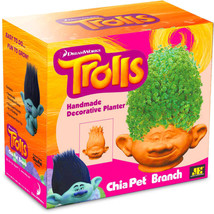 Chia Pet Branch Trolls DreamWorks Decorative Planter – Watch It Grow! - NIB - ₹1,937.85 INR