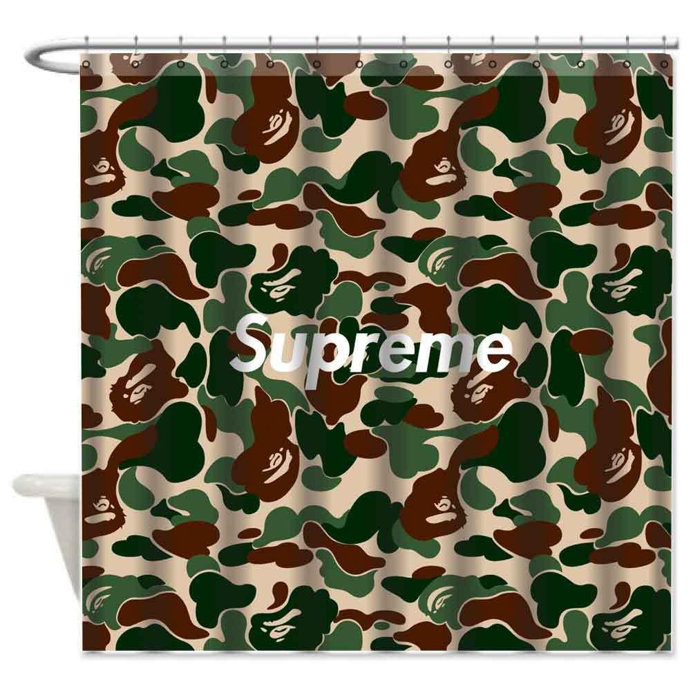 Bape Camo Supreme Custom Design Bathroom And 50 Similar Items