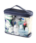 Travel Transparent Waterproof Women Toiletry Ki... - $9.99