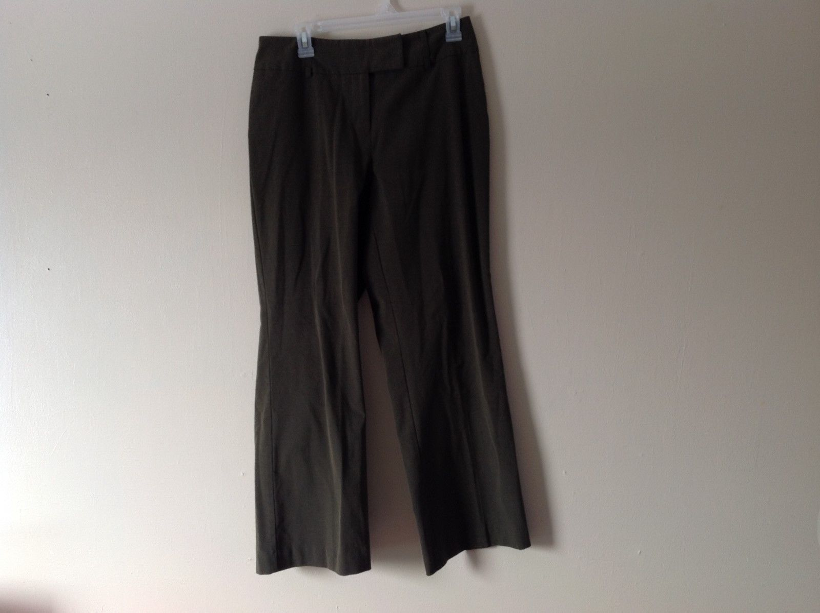 Women's dark olive green slacks