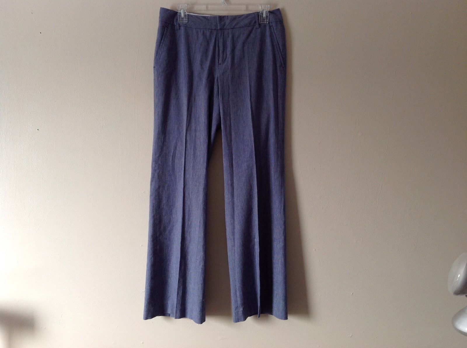 Women's Banana Republic light denim colored dress pants