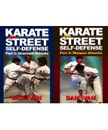 2 DVD Set Karate for Street Survival Self Defense - Unarmed & Armed Atta... - $36.00