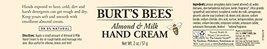 Body Scrub Burts Bees Almond Milk Hand Cream 2 Ounces Pack of h400 l600 ... - $26.81