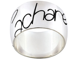 Ring simple with name of Cacharel (CAR028), Sterling Silver 0,925 - £37.22 GBP