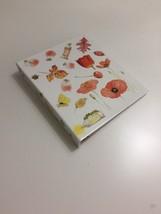 Vtg 1995 Hallmark MARJOLEIN BASTIN Photo Album Binder Paint Colors Flowe... - $16.98