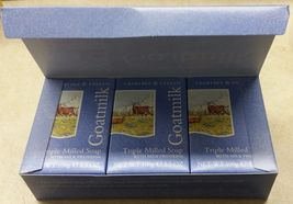 Crabtree & Evelyn GOATMILK Soaps Box of Three  ... - $44.95