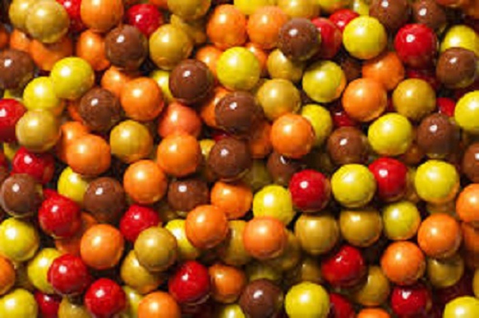 SIXLETS SHIMMER AUTUMN MIX, 5LBS