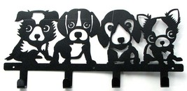 Puppies Dog Wall Metal Hook Hangers for the Dog Lovers - $17.81