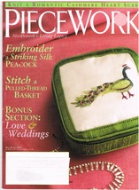Back Issue of Piecework Needlework Magazine May June 2005 - $7.99